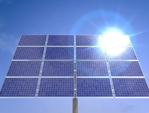 installation d'une plaque solaire